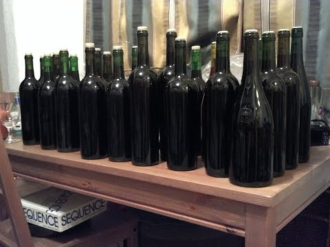 bottled fig wine