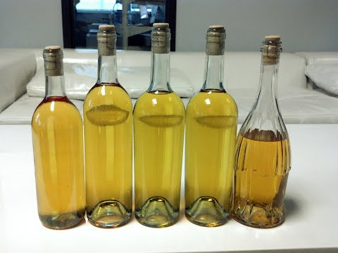 bottled banana wine