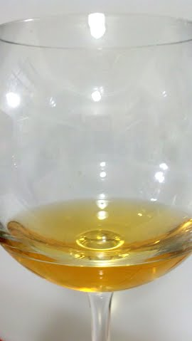 grapefruit wine sample