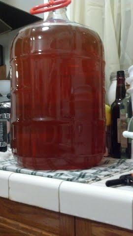 filtered grapefruit wine